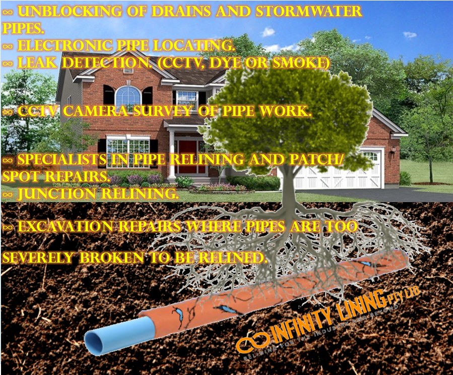 how to fix broken stormwater pipe au