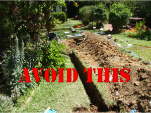 Avoid digging and try pipe relining
