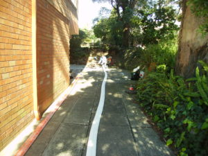 Preparing a liner for an installation