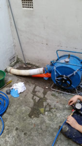Relining of a 100mm stormwater pipe
